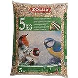 Zolux. Graines Jardin kg. 5Aliment pour Oiseaux, Multicolore, Unique