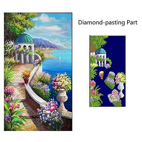 DIY 5D Landscape Diamond Painting Cross-Stitch for Entrance Living Room Bedroom - 5