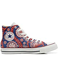 Converse All Star Customized, Sneaker Unisex, printed Italian style Vintage Paysley