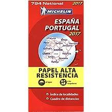 "Mapa National España - Portugal ""Alta Resistencia"" (Mapas National Michelin)"