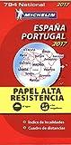 Carte Espagne, Portugal IndéchirableMichelin 2017...