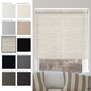 Chicology Custom Made Corded Roller Shades No Valance