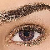 waysad Lentes de Contacto 1 par de Halloween 12 Lentes de Contacto cosméticos de Colores Lentes de Color Kawaii Big Eye Contacts Lenses para Ojos Maquillaje cosmético, Utilizado Anual