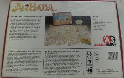 Ali Baba - ein traumhaftes Spiel aus 1001 Nacht - von Ian Livingstone