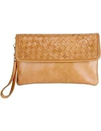 Vintage Clutch Abendtasche casual ethno Look von Joselle (25 x 15 x 1,5cm) A1043-1