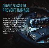 Olight® X7R Marauder aufladbar LED Taschenlampe 12000 Lumen mit 3 X Cree XHP70 CW LED - inkl. 1 x eingebaute 4 x 3000mAh 18650 Akkus - Ultra hell und kompakt - 6