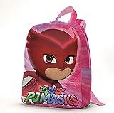 Zaino bambina Super Pigiamini PJ Masks zainetto Spalline regolabili (27 x 21 x 7 cm) immagine