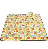 Nasis Portable 300x300cm Large Waterproof Picnic Blanket Camping Mat Tartan / Floral for 10-12 Persons AL7157