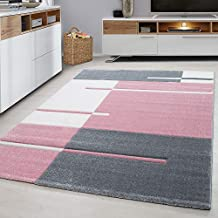 Amazon.fr : tapis salon - Rose