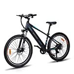 """51ZOg%2BVw4EL. SS150 Macwheel 27,5""""/28"""" Bici Elettrica da Citt/àTrekking/Mountain, Batteria Rimovibile agli Ioni di Litio da 36 V/10Ah/12,5 Ah, Shimano a 7 velocità, Freni a Doppio Disco Tektro, Bicicletta Elettrica per Adulto Unisex"""