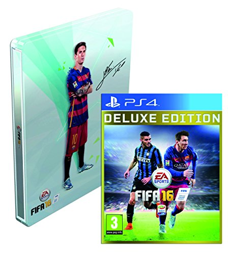 FIFA 16 Deluxe Edition + SteelBook - Esclusiva Amazon - PlayStation 4