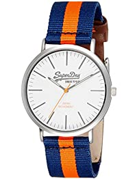 Superdry Analog White Dial Men's Watch - SYG183UO
