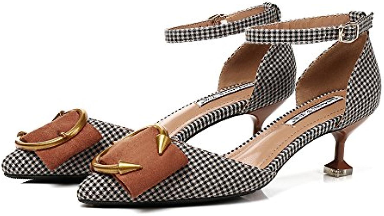 Sandalias De Raya De Verano Para Mujer Tacones De Aguja Sexy Tacones Altos De Boda Bombas De Mujer Classic 1 Zapatos...
