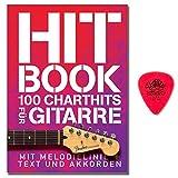 HIT Book–100Chart Hits pour guitare–SONGBOOK avec ligne de Mélodie et akkorden, plus Y texte avec akkorden...