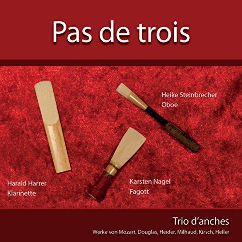 Pas de trois pour trio d'anches, Op. 53: III. Jeu (Pas De Trois)