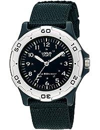 Lorus Watches - RRS61NX9 - Montre Femme - Quartz Analogique - Aiguilles lumineuses - Bracelet Caoutchouc Noir