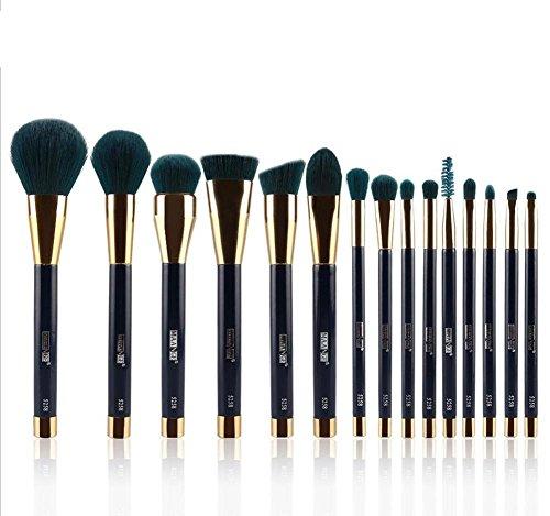 SMX&xh 15pcs brosses cosmétiques ensemble fond de fard à paupières sourcils ombre à paupières contour des lèvres correcteur poudre outils de beauté , purple