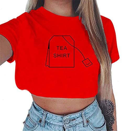 TWIFER Damen Übergröße Gedruckt Tees Shirt Kurzarm T Shirt Bluse Tops Baker Usa-sweatshirt