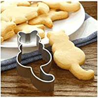 Lalang Cat Cookie Cutters Stainless Steel Sugarcraft Fondant Embossers Cookie Pressers