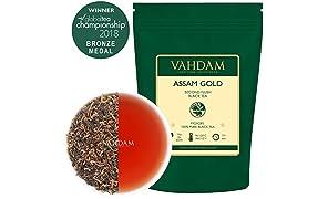 Assam Oro Secondo rossore100% Puro Unblended Tè nero Foglia sfusa Sourced Direttamente dall'Assam in India 50 Tazze 100g