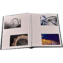 Anker - Álbum de fotos autoadhesivo (40 páginas, 80 caras), con diseño de bordado en dorado
