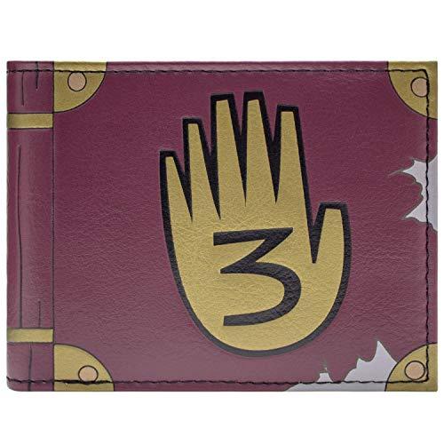 Gravity Falls Journal 3 Braun Portemonnaie Geldbörse
