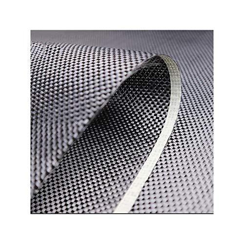 SOFIALXC Fibra di Carbonio Tessuto a Due Vie per Auto Bicicletta 220g/M² (19,7 Pollici X39,37 Pollici)-plain-50cmx100cm