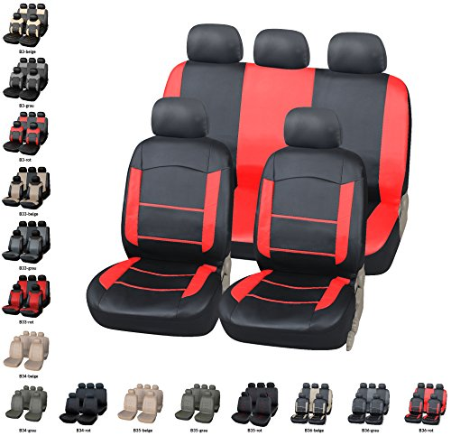 Ford Focus Velours  Sitzbezug Sitzbezüge schwarz