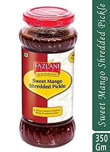 FAZLANI FOODS Ready to Eat Sweet Mango Shredded Pickle (350 Gms)