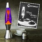 Lava Lamp in Violet Orange – The Original Mathmos Astrobaby