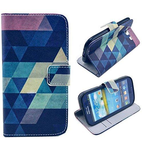 TPJOER Graphic Design Flip Case Cover per Samsung...
