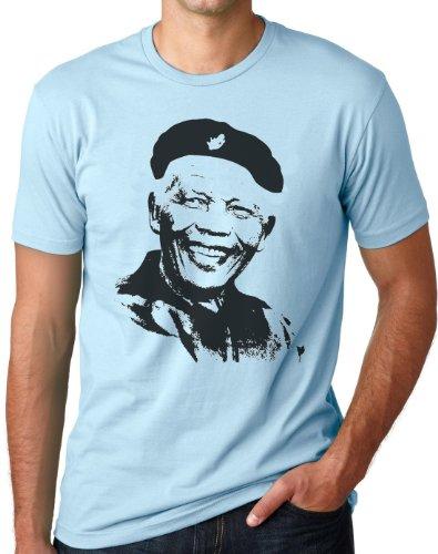 OM3 - CHE - MANDELA - T-Shirt Che Guevara Castro CUBA- Nelson MADIBA Mandela AFRICA, S - 5XL