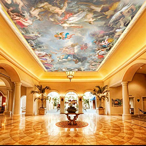 Carta Da Parati In Tessuto Non Tessuto - Star sky zenith soffitto murale Moderna Fotomurali 3D Immagini Da Parete