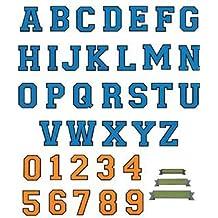 Brother 4977766118446 - Tarjeta de diseño de bordado - alfabetos para bordadoras