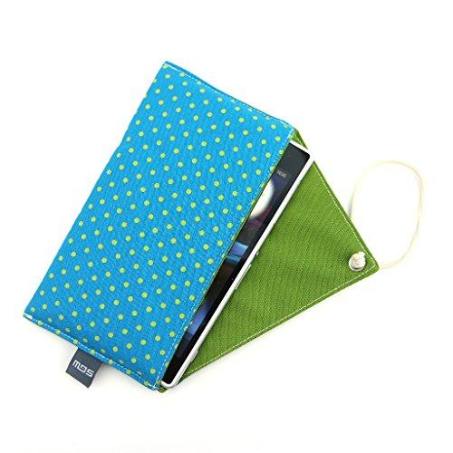 Handytasche/Smartphonehülle aus Baumwolle (GR.M) Design: Punkte, Dots