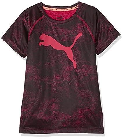 Puma enfants Sport AOP Thé T-shirt 13-14 ans Violet/imprimé