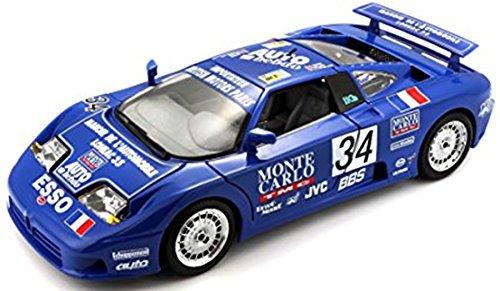 Tobar Echelle 1 : 24 Bugatti EB110 La Mini Mineria modèle de Voiture