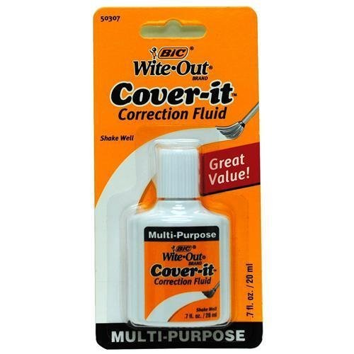 bic-20ml-07-fl-oz-wite-out-cover-it-correction-fluid-by-bazic-english-manual