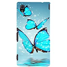 Ebby Printed back cover for Sony Xperia M4(Premium Designer case)