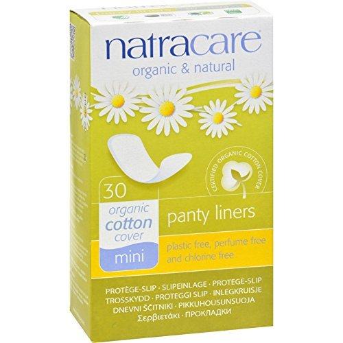Natracare Mini Panty Liners - Organic 30 x 3 packs