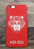 G¨¦n¨¦Rique Kenzo iPhone 7 8 Coque, Hard Plastic Phone Housse Coque for iPhone 7 8 Kenzo Paris, Rouge