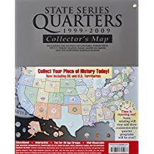 State Series Quarters 1999-2009 Collectors Map: Including the District of Columbia, Puerto Rico, the U.s. Virgin Islands, Guam, American Samoa, and the Northern Mariarna Islands