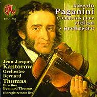 Paganini: Concertos pour violon