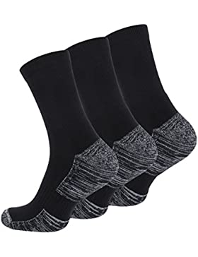 6 Paar Multifunktionssocken Outdoorsocken mit Polstersohle Trekking - Wandersocken