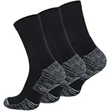 6 Paar Multifunktionssocken-Outdoorsocken mit Polstersohle, Trekking - Wandersocken