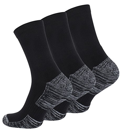6 Paar Hightech Multifunktionssocken-Outdoorsocken mit Spezialpolsterung, Trekking - Wandersocken UNISEX