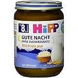 Hipp Gute Nacht, Milchreis pur, 6er Pack (6 x 190g)