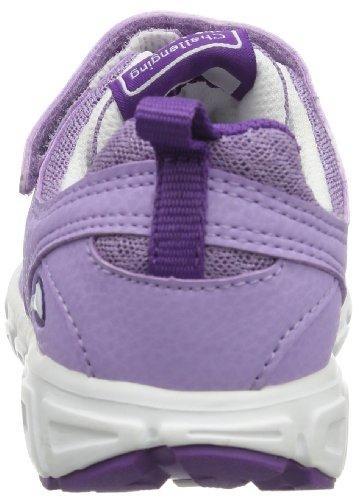 Viking Riptide El./vel., chaussons d'intérieur mixte enfant Violet - Violett (violet/white 2101)