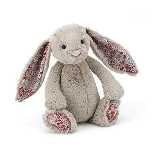 Image of Jellycat Bashful Blossom Beige Tiny Bunny - 13cm