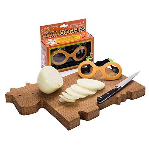 Gafas protectoras para cortar cebollas